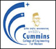 Cummins College of Engineering for Women logo