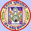 Gujarat University logo