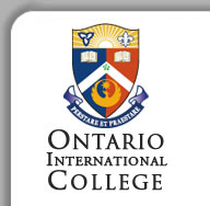 Ontario International college logo