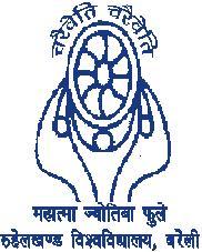 Rohilkhand University logo
