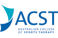 Australian College of Sports Therapy logo