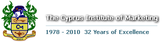 THE CYPRUS INSTITUTE OF MARKETING logo