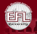 English and Foreign Languages University, Hyderabad logo