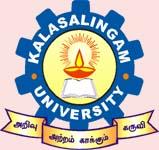 Kalasalingam University logo