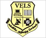 Vels University logo