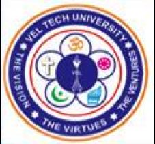 Vel-Tech University logo