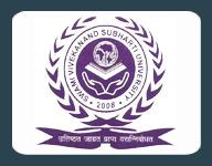 Subharati University logo