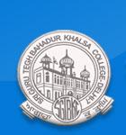 S G T B Khalsa College logo