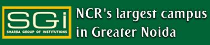 Sharda Group of educational institutions  logo