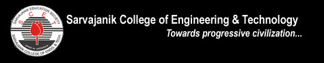 Sarvajanik college of engineering & technnology logo