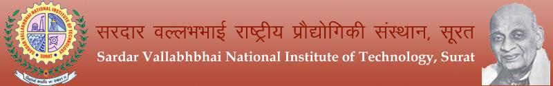 Sardar Vallabhbhai National Institute of Technology logo