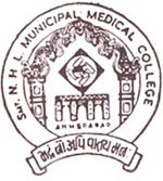 Smt N.H. L Municipal Medical College logo