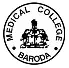 Medical College Baroda logo