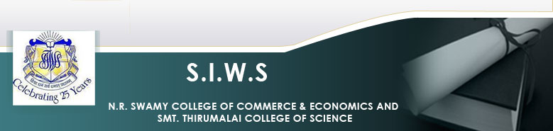 Siws N R Swamy College of Commerce & Economics & Smt Thirumalai College of Science logo